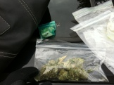 Seized during a traffic stop