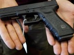 Example of a Semi auto pistol