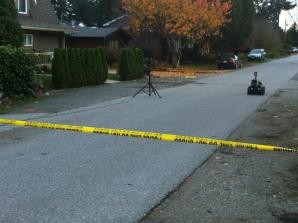 EDU Robot on it's way to the scene.