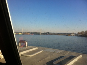 Aboard the Hovercraft