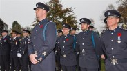 From the Delta Optimist, on parade at the cenotaph in Ladner's Memorial Park.