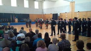 Class 140 Graduation Ceremony