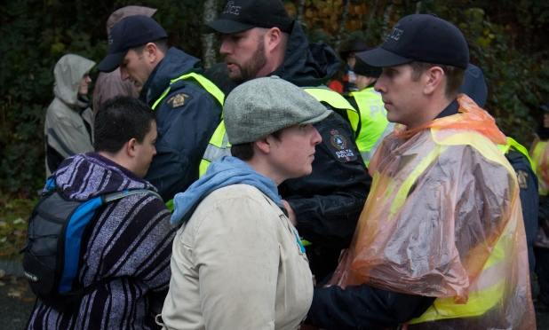 My 4 days on the line at the Burnaby Mountain Kinder Morgan protest.